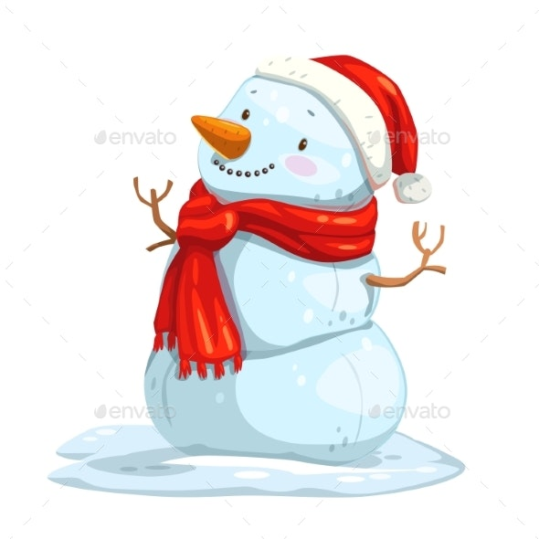 Cartoon Snowman - Miscellaneous Characters