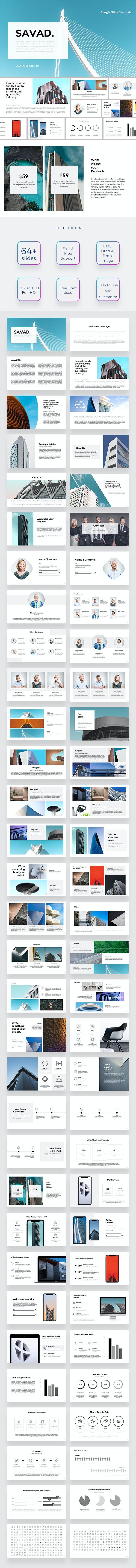 Savad Gogle Slides - Google Slides Presentation Templates