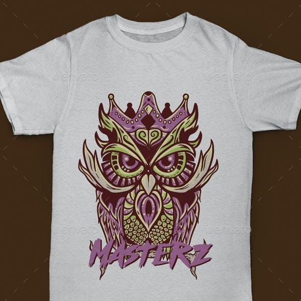 Tshirt Owl King