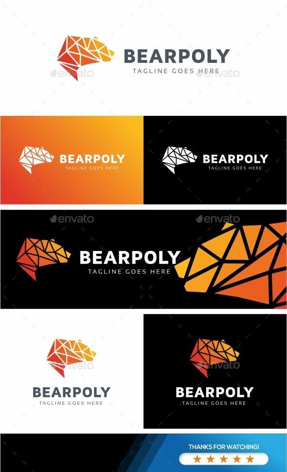 Bear Polygon Logo