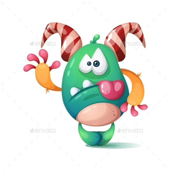 Crazy Monster Character - Animals Characters