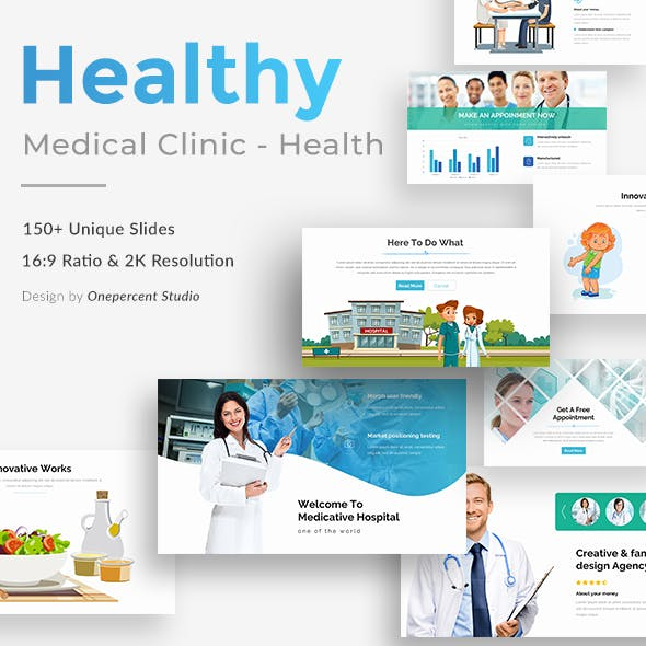 Medical Clinic - Health & Doctor Medical Keynote Template