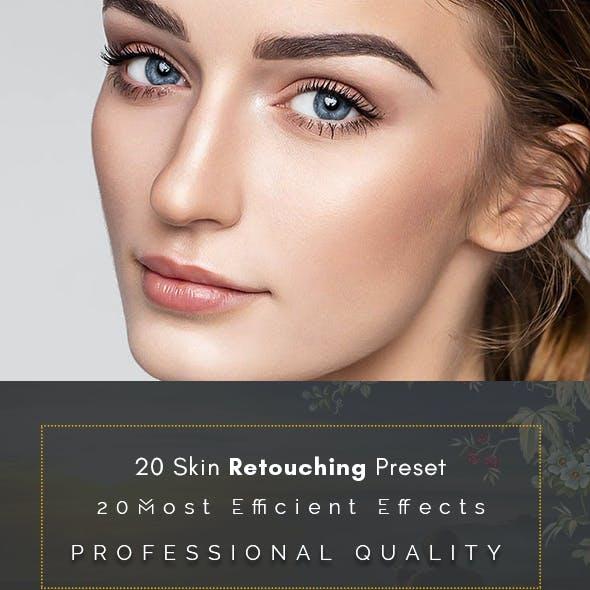 20 Skin Retouching Preset