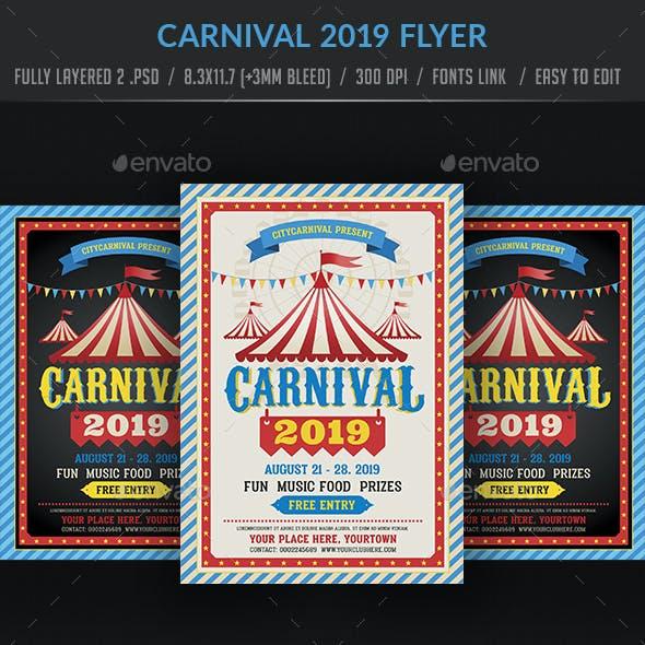 Carnival 2019 Flyer