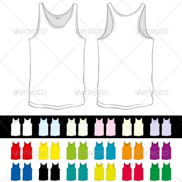 Vector Blank Undershirts