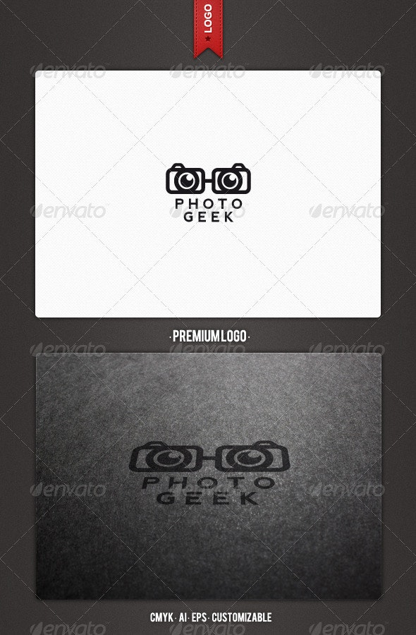 Photo Geek Logo Template - Humans Logo Templates