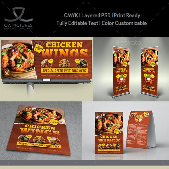 Restaurant Advertising Bundle Vol.18