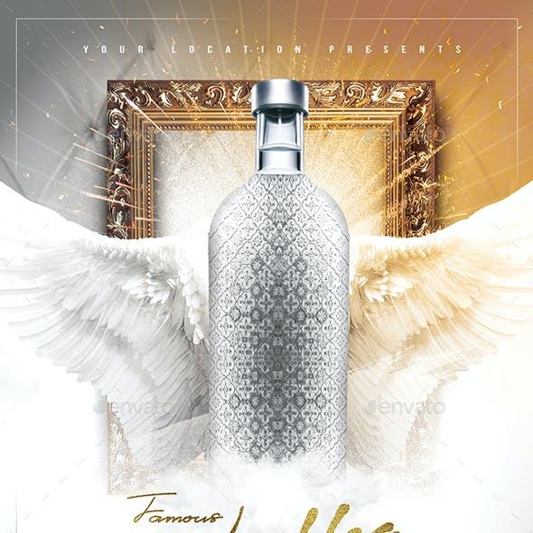 Famous Vodka Flyer