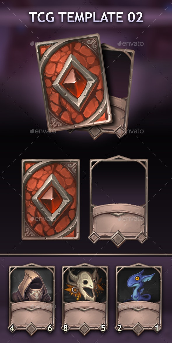 TCG Template 02 - Miscellaneous Game Assets