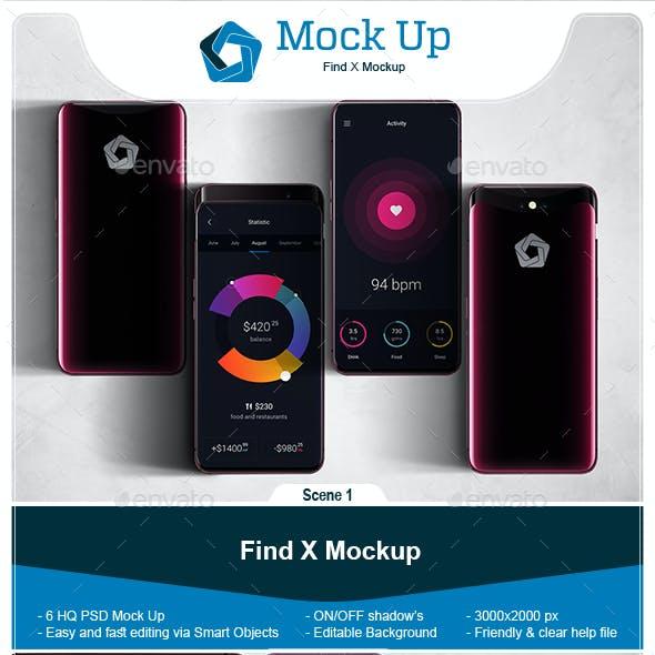 Find X Mockup