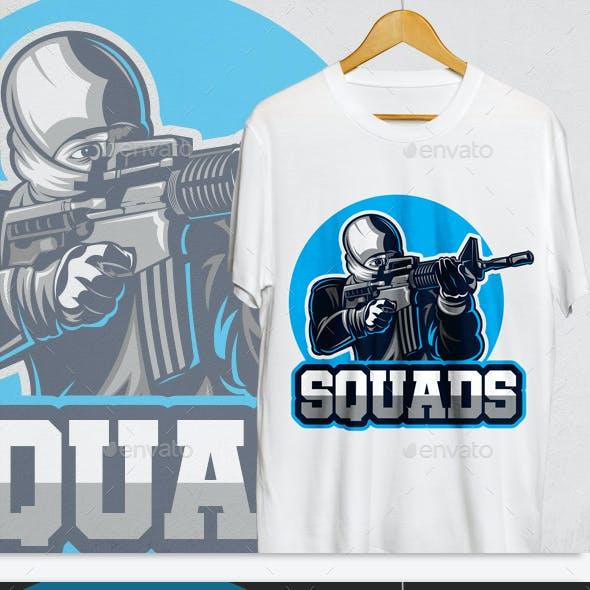 Squads T-Shirt Design
