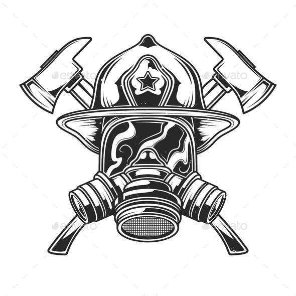 Firefighter Emblem Design
