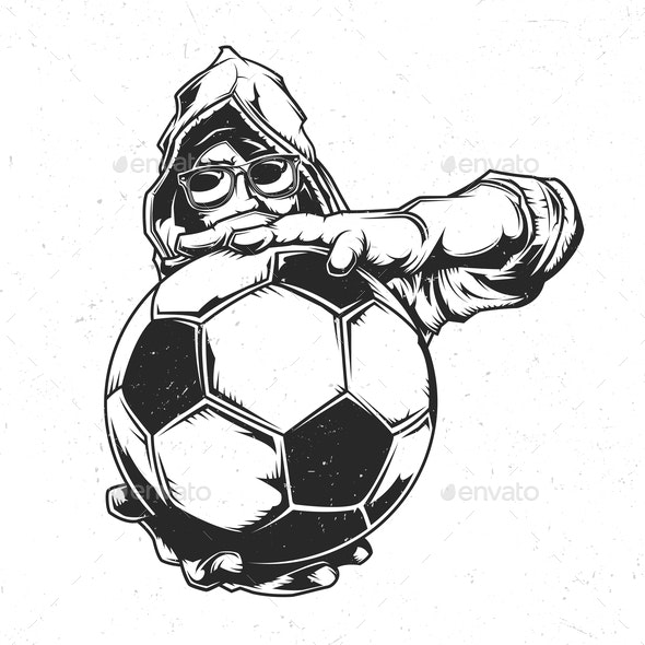Soccer Emblem - People Characters