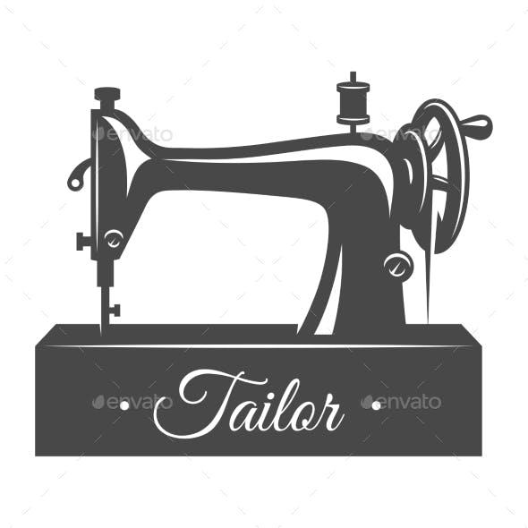 Vintage Sewing Machine Concept