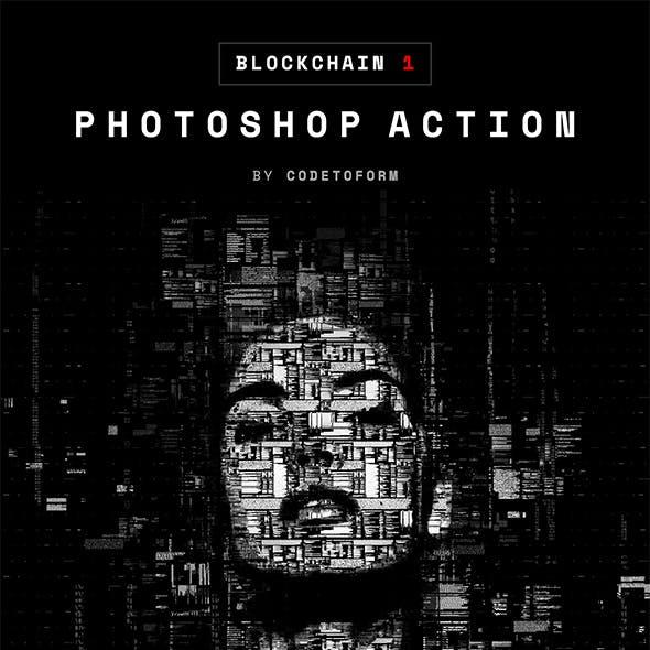 Blockchain 1 Photoshop Action