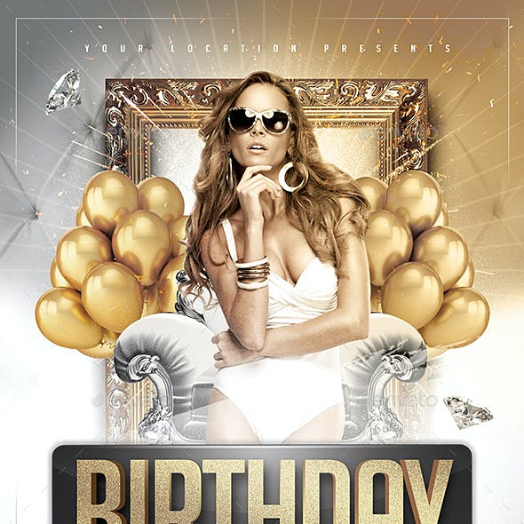 Deluxe Birthday Flyer