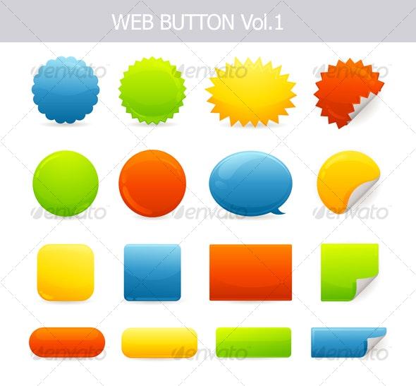 Web Button Elements - Web Technology