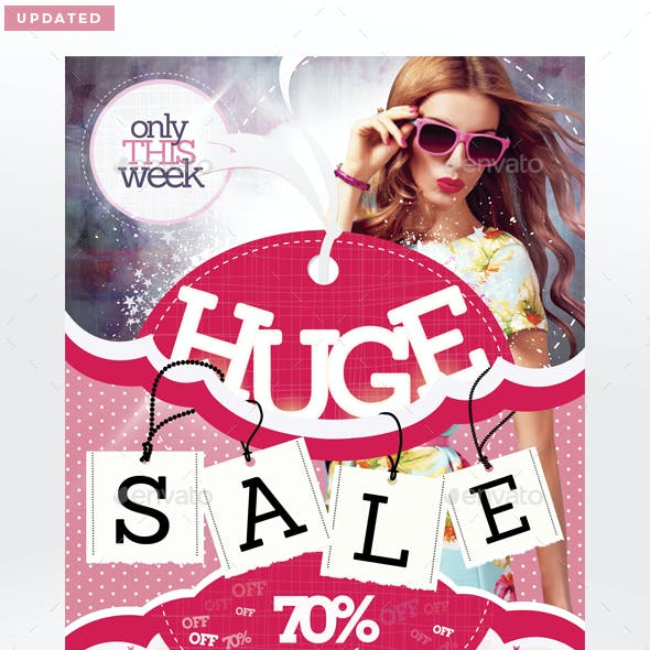 Sale / Promotion Flyer Template