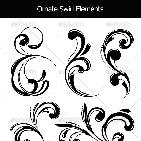 Funky Scrolls Elements