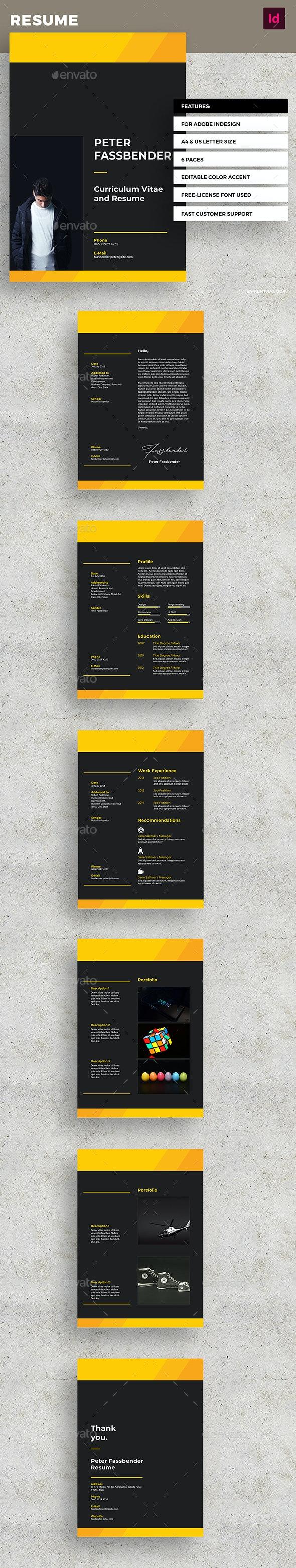 Modern Resume - Resumes Stationery