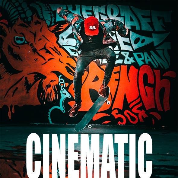 Cinematic Orange & Teal Lightroom Presets