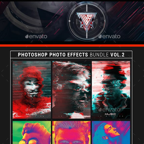 Photoshop Photo Effects Bundle Volume 2