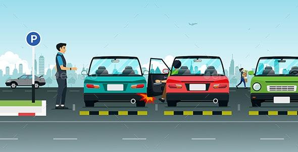 Parking Accident - Miscellaneous Conceptual