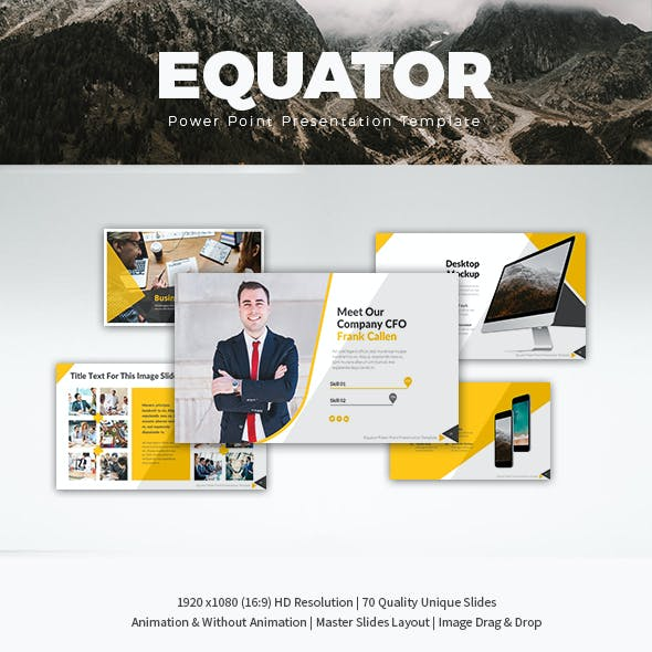 Equator Power Point Presentation