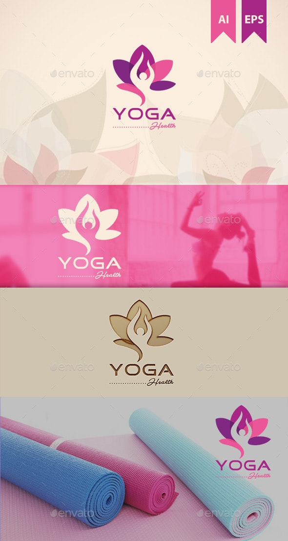 Yoga Logo - Nature Logo Templates