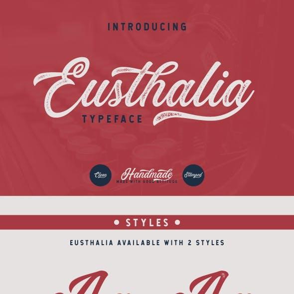Eusthalia Typeface | 2 Styles