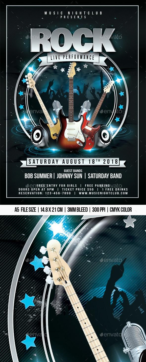 Rock Live Performance - Concerts Events