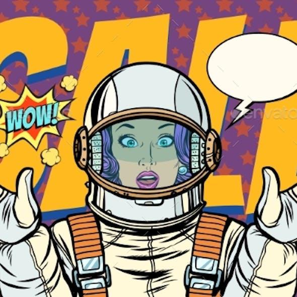 retro astronaut posters - 590×590