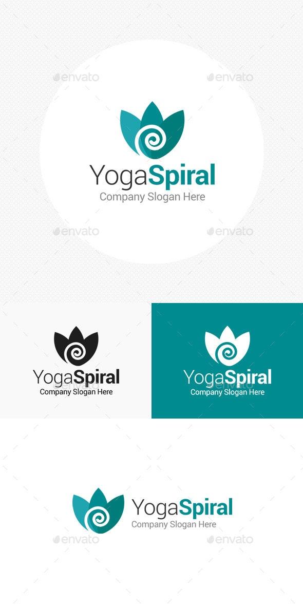 Yoga Spiral Logo