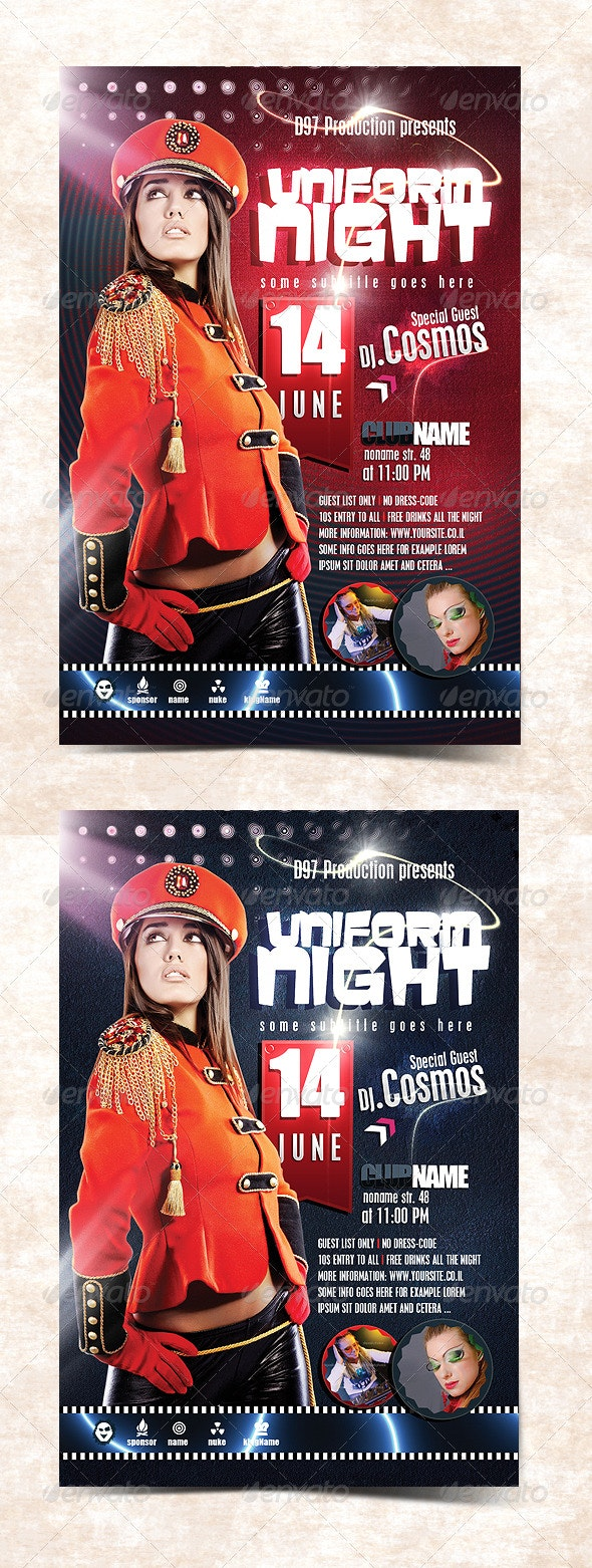 Party Flyer V.6 - Clubs & Parties Events