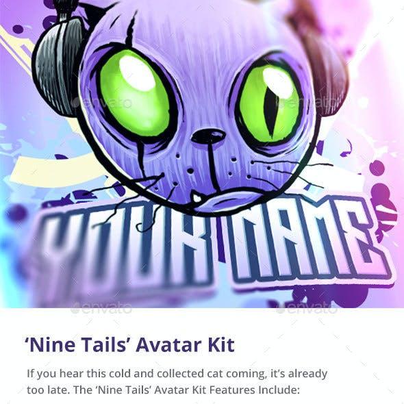 'Nine Tails' Cat Avatar Kit