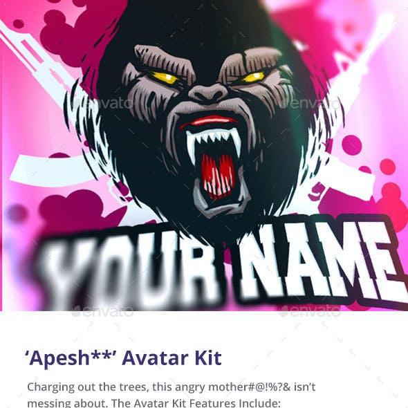 'Apesh**' Avatar Kit