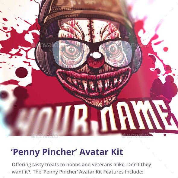 'Penny Pincher' Clown Avatar Kit
