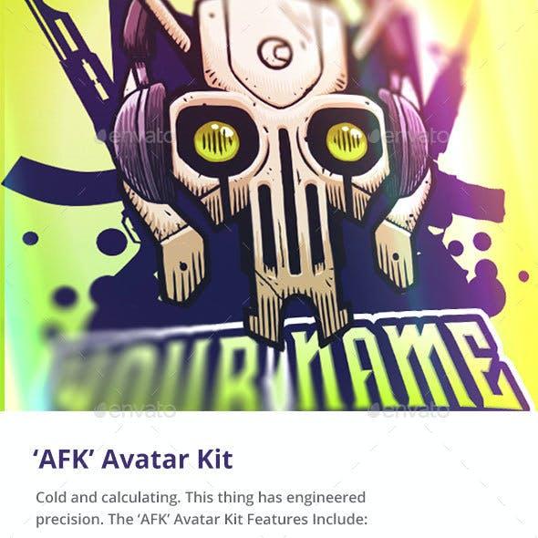 'AFK' Robot Avatar Kit