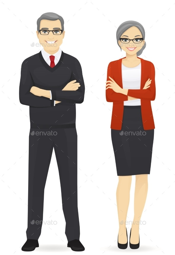 Business Team - People Characters