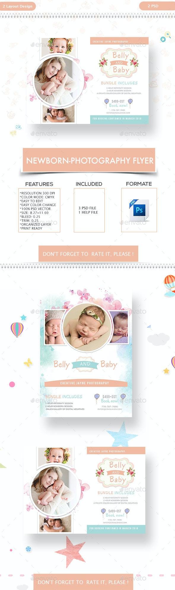 Newborn-Photography Flyer - Commerce Flyers