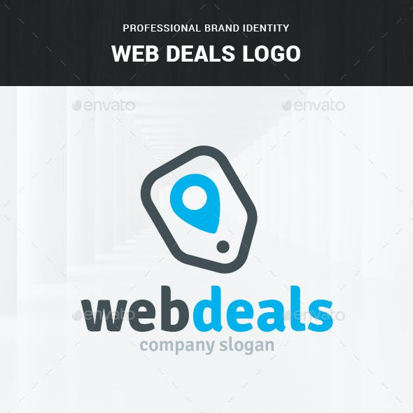 Web Deals Logo Template