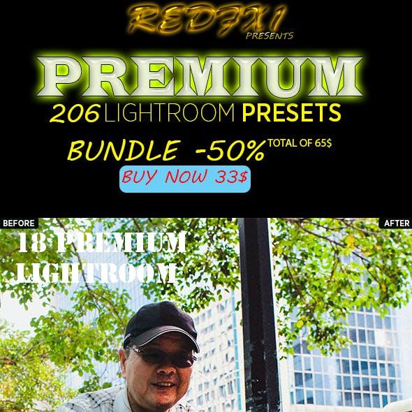 206 Premium Lightroom Presets Bundle