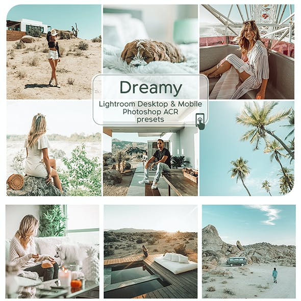 Dreamy Lightroom Desktop and Mobile Presets