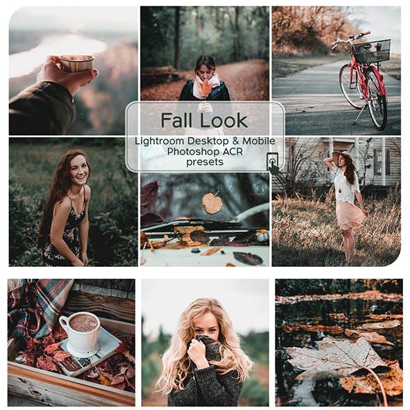 Fall Look Lightroom Desktop and Mobile Presets