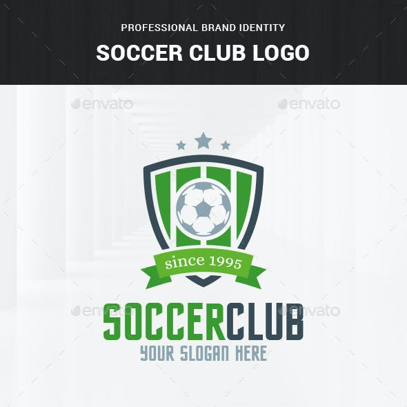 Soccer Club Logo Template