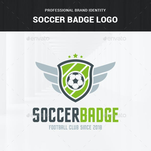 Soccer Badge Logo Template