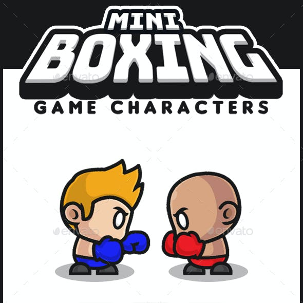 Mini Boxing Characters