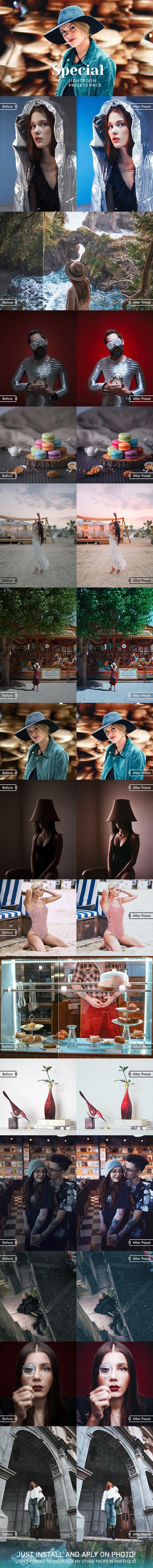 16 Special Lightroom Presets - Film Lightroom Presets