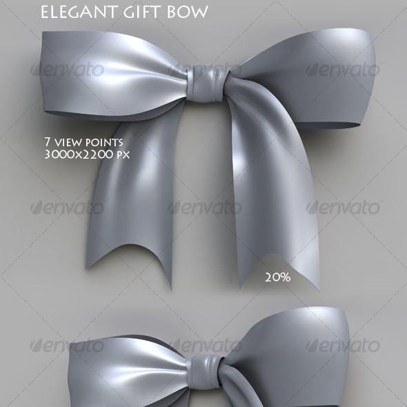 Elegant gift bow