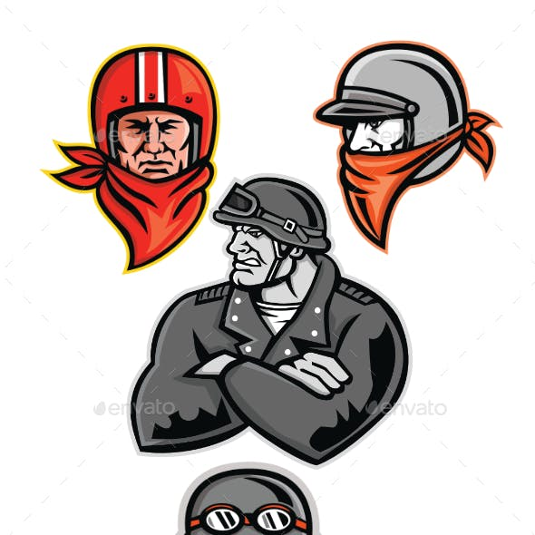 Biker Outlaw Mascot Collection
